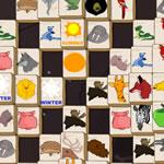 Mahjong Avec Des Animaux