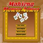 Mahjong Flower Tower