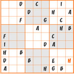 Sudoku Lettres